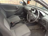 04 Vauxhall corsa 3 dr for sale.New mot with no advisories. Low mileage for year. ONLY £995