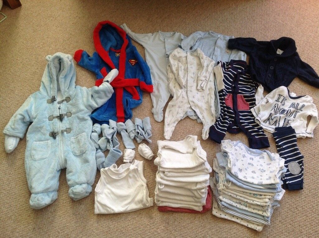 Baby Clothes 0-3 Months Boy Winter