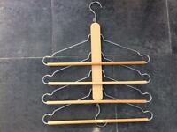 Multipurpose coat hanger
