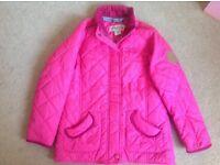 Girls padded regatta jacket pink 7-8
