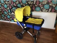 Complete Bugaboo Cameleon Set with additional Maxi-Cosi Carrier/baby car seat
