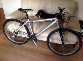 K2 vertical 18 inch alloy mountain bike £ 75 bargain