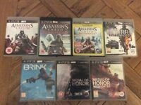 PS3 Games - £2 each