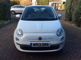 Stunning fiat 500 lounge 1.2 , Low mileage !