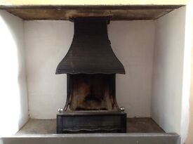 Two beautiful cast iron fires in great condition