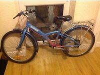 "Girls Decathalon mountain bike 24"" wheels"