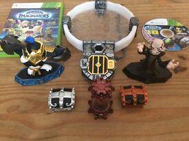 Skylanders imaginators Xbox 360 plus Kaos & chests