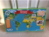Leap Frog Tag Interactive World Map