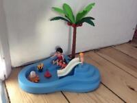 Playmobil baby pool
