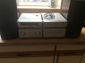 Technics stereo separates