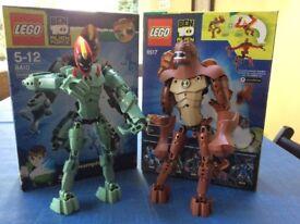 Lego Ben 10 Alien Force Humungousaur and Swampfire
