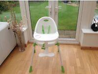 High chair-mamas and papas £10