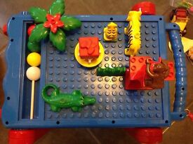 Lego Duplo Play Table (Toys, Lego, Minion, Peppa Pig, Barbie, Disney)