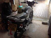 SOLD! Yamaha YBR 125 Motorbike