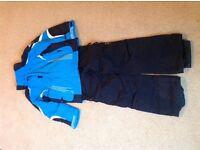 Ski Clothes, Jacket, Salopettes, Age 7-8, Gloves, Socks
