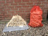 Kindling sticks, firewood, 6 kilo bags,