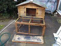 Large pet hutch,