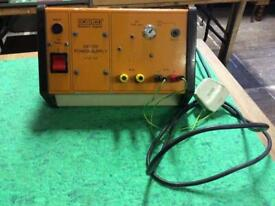 Vintage Unilab 2v/12v Power Supply