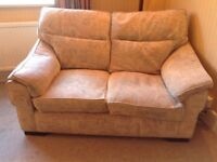 2 seater sofa, fabric material, very comfortable
