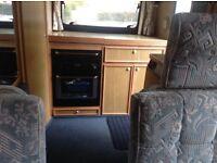 Good clean 2 berth campervan. MOT July 17 4 travelling seats End kitchen Top box Back cycle rack