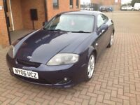 HYUNDAI COUPE 2.0 ATLANTIC (06) SERVICE HISTORY, 2 OWNERS.