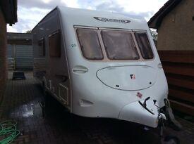 Fleetwood Colchester 4 berth caravan 2004 model