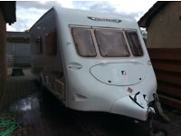 Fleetwood Colchester 4 berth caravan 2004 model