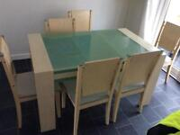 Table and chairs free to good home
