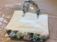Ladies Lipsy London Tote Beach Handbag Shoulder Bag