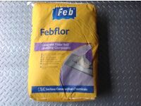 FEBFLOR SELF LEVELLING SCREED x 8 BAGS