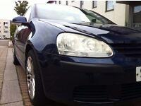 2006 VW Golf 1.4s 16v, 5 door hatchback, Manual, One owner Low insurance group
