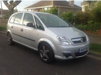 2009 59 Vauxhall Meriva 1.4 Twinport silver 60000 MLS YR MOT & NEW TIMING CHAIN