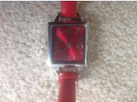 M&S ladies wristwatch, never used, still boxed