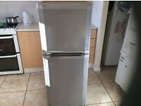 Beko Fridge Freezer , 53 inches tall.