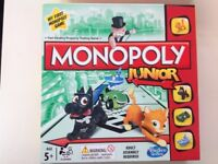 Monopoly junior board game 5+