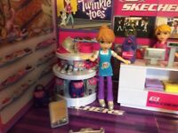 Mi World Sketchers and Claire's playsets