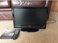 "Hitachi 19"" LCD HD READY Colour TV/DVD"