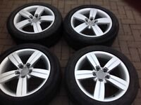 Audi alloy wheels A4 A5 TT