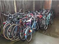 selection of secondhand bicycles all serviced