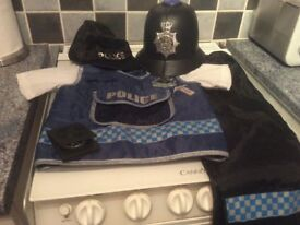 Police mans outfit for age 3-5