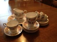 Vintage Teaset Bone China