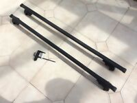 Volvo roof bars for 3rd generation (2007-2016) V70 with roof rails