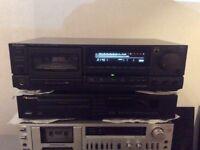 Technics RS RX 707 tape deck .
