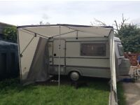 Puck L VanderHorn 2 sided summer Awning to fit a puck L caravan .