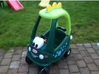 Little Tikes Dinosaur Cosy Coupe in excellent condition