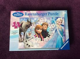 Children's toys - Frozen jigsaw puzzle