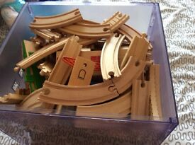 Wooden train track bridges tunnel etc, Thomas sets etc