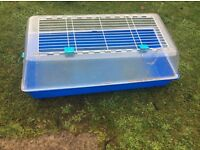 Guinea pig / rabbit cage with accessories