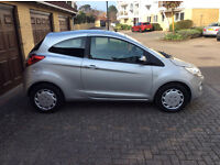 Ford Ka Edge, May 2013, 1242 cc stop/start, 2 dr. hatchback, 21600 miles, silver, lady owner.