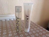 Perfume DKNY WOMEN 50ml + Body Lotion